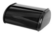 Home Basics BB40201 Bread Box Stainless Steel Black,