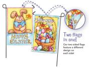 Happy Easter Bunny Garden Flag ...