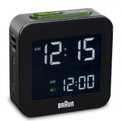 Braun Digital Alarm Clock Colour