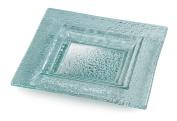 Rosseto GSP08 20cm  Green Glass Square Serving Platter