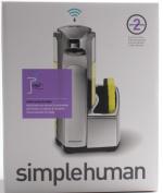 simplehuman 380ml Sensor Pump Soap Dispenser with Caddy ST1031