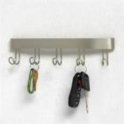 Spectrum Diversified 32371 Key Hook Rack - Nickel