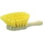 Weiler 79120 8 Utility Scrub Brush, Yellow Polypropylene F