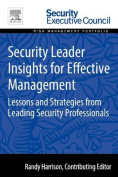 Security Leader Insights for Effective Management