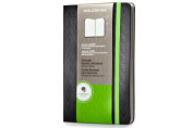 Moleskine Evernote Business Notebook with Smart Stickers, Large, Black, Hard Cover