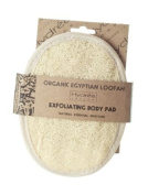 Organic Egyptian Loofah Exfoliating Body Pad - Luxury Body Exfoliator