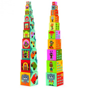 Djeco / Nesting and Stacking Cubes