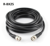 CablesOnline 7.6m High-Quality RG8x Coax 50 OHM BNC Male/Male Antenna Cable