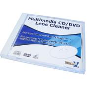 Multimedia Dry Type CD/DVD Lens Cleaner Disc