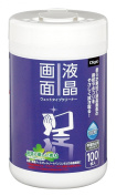 Nakabayashi Digio LCD screen for wet type cleaner bottle type, 100 sheets DGCW-B3100