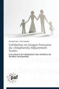 Validation En Langue Francaise Du -Stepfamily Adjustment Scale-  [FRE]