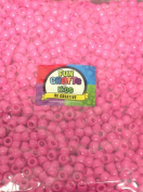 Fun Crafts or Pony Dark Pink Opaque Beads for Kids