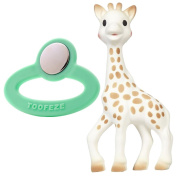 Toofeze Baby Cooling Teether with Vulli Sophie the Giraffe Teether