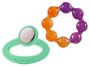 Toofeze Baby Cooling Teether with Munckin Fun Ice Ring Teether