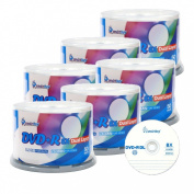 Smart Buy 300 Pack Dvd+r Dl 8.5gb 8x DVD Plus R Double Layer Logo Top Blank Data Recordable Media 300 Discs Spindle