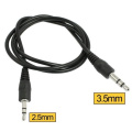 Audio Aux 1.5m 2.5mm to 3.5mm Male to Male Stereo Headset Cable