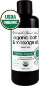 Herbal Choice Mari Organic Bath Body Massage Oil Health Spa for Your Body 100ml/ 3.4oz Bottle