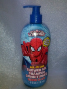 Marvel Ultimate Spiderman All-in-one Shower Gel Shampoo and Conditioner
