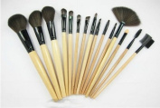 Smile 15 pcs Soft Synthetic Hair make up tools kit Cosmetic Beauty Makeup Brush