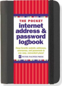 Pocket-Sized Internet Address & Password Logbook