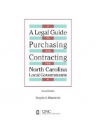 Legal Guide to Purchasing and Contracting for North Carolina Local Governments