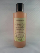 Natural First Organic Apple Cider Vinegar Finishing Rinse w/ Green Tea for Itchy/Dry Scalp 240ml