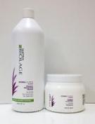Matrix Biolage HYDRASOURCE Shampoo and Conditioner Litre Duo