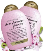 Organix Cherry Blossom Ginseng 380ml Shampoo + 380ml Conditioner (Rejuvenate) (Combo Deal) by Organix [Beauty]