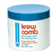Krew Comb Extra Super Hold Hair Styling Prep 120ml