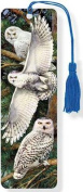 Snowy Owl 3-D Bookmark