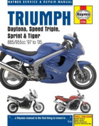 Triumph Daytona, Speed Triple Service and Repair Manual