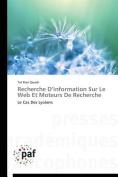 Recherche D Information Sur Le Web Et Moteurs de Recherche  [FRE]