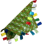 Little Frogs ~ Blankie with Ribbon Tabs