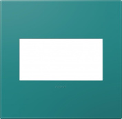 TURQUOISE BLUE - 2 GANG WALL PLATES