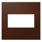SOFT TOUCH RUSSET - 2 GANG WALL PLATES