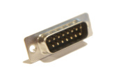 Male DB15 DB 15 DB-15 Solder Cup Type Connector Adapter Serial Style 15 Pin