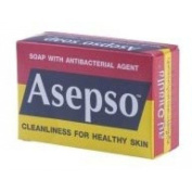 Asepso Soap with Antibacterial Agent 80ml