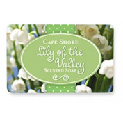 Lily of the Valley Scented Bar Hand Soap, Pack of 3 Bars, Cape Shore