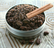 Organic Cinnamon Coffee Body Scrub - Dr. Oz Approved Method to Reduce Cellulite