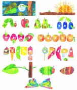The Very Hungry Caterpillar Precut Felt Figures for Flannel Board Stories Eric Carle