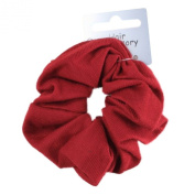 Burgundy Soft Jersey Fabric Hair Scrunchie Bobble Elastic Hair Band