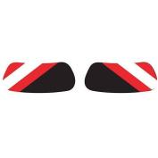 Red and White Stripe EyeBlacksTM