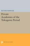 Private Academies of the Tokugawa Period