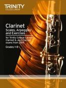 Clarinet & Jazz Clarinet Scales & Arpeggios from 2015