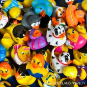 50pc 5.1cm Cute Rubber Ducks Bulk Assortment