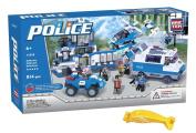 BRICTEK 11010 Police Station 814 pcs Building Blocks. with Block Remover