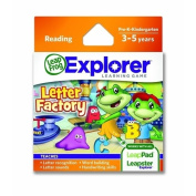 Letter Factory Leapfrog Explorer Learning Game By Leapfrog Enterprises