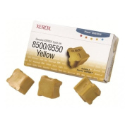 XEROX 108R00671 / Genuine Xerox - 3 - yellow - solid inks - for Phaser 8500DN, 8500N, 8550DP, 8550DT, 8550DX