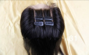 3 Way Part 4*4 Lace Top Closure Philippines Virgin Remy Hair Straight natural colour Can Be Dyed