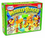 Monkey Blocks Stacking Game